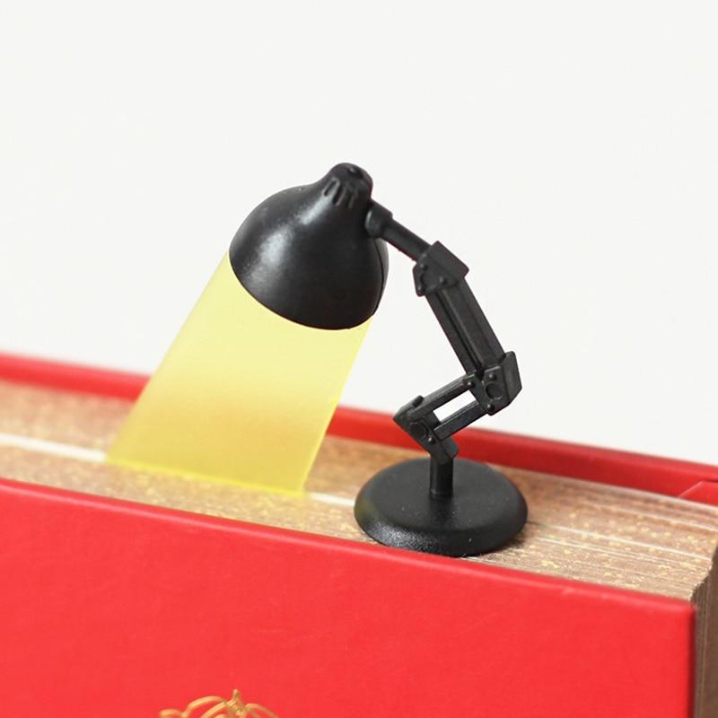Novelty Lightmark Reading Lamp Bookmark Grey Book Marker School Office Creative Gift For Kids Children Stationery