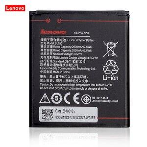 "Image 1 - 2019 New 3.8V 2050mAh BL253 for Lenovo A2010 A1000 A1000m Vibe A 4.0"" for Lenovo A2800D A3800D A3600D A2580 A2860 phone Battery"