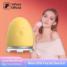 InFace-Dispositivo de cuidado de la piel Facial, masajeador Facial, eliminador de arrugas de iones, mesoterapia Facial para Esencia de maquillaje, removedor de espinillas