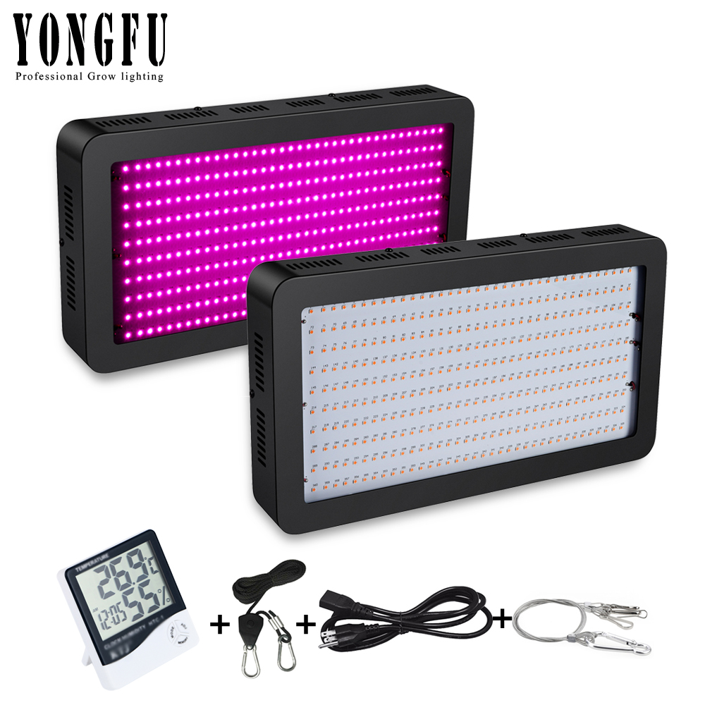 High Power LED Grow Light 1000W 1500W 2000W SMD Chip Full Spectrum for Indoor Hydroponic Plant Flower Yield