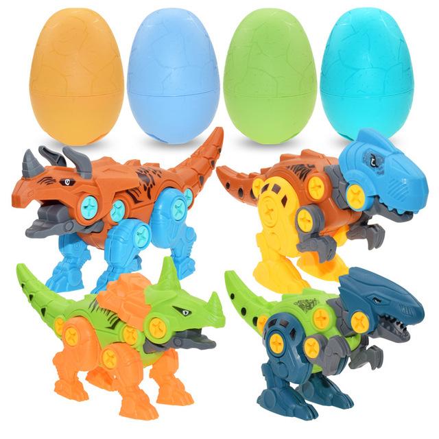 w montażu jaja nie są dokręcone