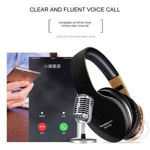 Image 5 - PunnkFunnkหูฟังไร้สายบลูทูธหูฟัง 5.0 Foldablel 3Dสเตอริโอลดเสียงรบกวนชุดหูฟัง/ไมโครโฟนสำหรับโทรศัพท์มือถือPC