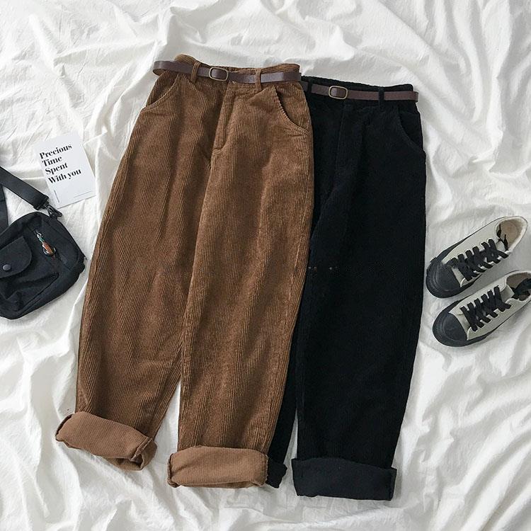 Купить вельветовые широкие брюки на Алиэкспресс