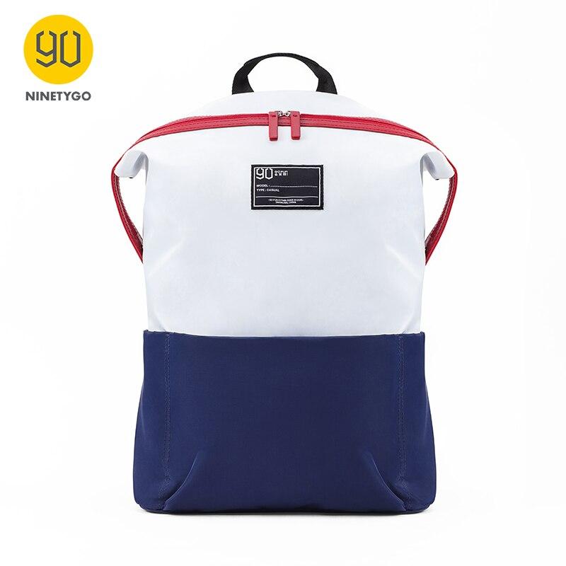 NINETYGO 90FUN Lecturer 13.3inch Laptop Backpack Fashion Waterproof School Bag Outdoor Travel Daypack For Men Women Boy Girl