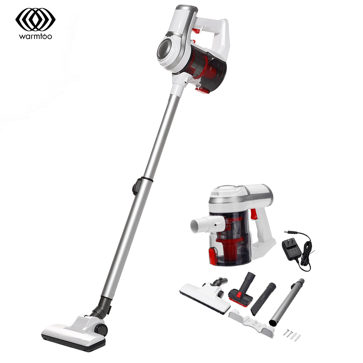 Household Vacuum Cleaner High Power Strong Suction Low Noise Car Vacuum Cleaner Vertical Clean Wireless Handheld Sweeper Mopping