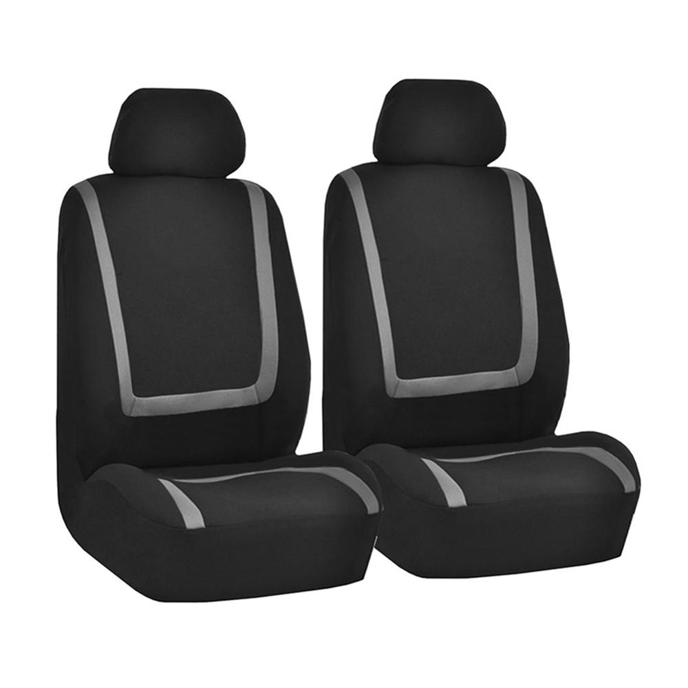 VINYL ALL OVER SEAT SUZUKI LIANA BLUE//BLACK LEATHER FRONT CAR SEAT COVERS