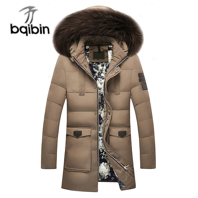 New -20 Degree Warm Winter Jacket Duck   Down   Jacket Thick Snow Parka Hooded Casual   Down     Coat   Windproof Outerwear #506
