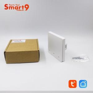 Image 5 - Tuya zigbee 허브와 함께 작동하는 smart9 zigbee 벽 스위치, smart life app 컨트롤이있는 버튼 디자인, tuya에 의해 구동
