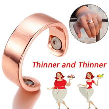 Fat-Burner Slim-Ring Lose-Weight Health Jewelry Stimulation Natural-Fat Magnetic Body-Health