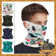 Scarf Sunscreen-Band Ring Bandana Face-Collar Boy Headwear Magic-Tube Washable Multifunction