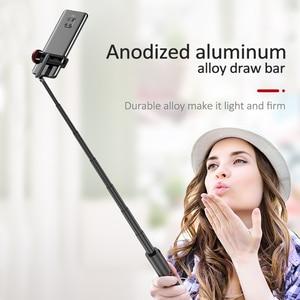 Image 4 - Lewinner LW 202pro esporte tudo em um portátil bluetooth tripé selfie vara monopé para gopro 7 6 5 esportes ação 1/4 parafuso vista