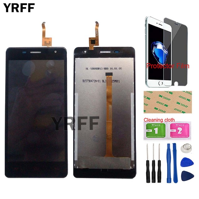 Touch Screen LCD Display For Oukitel K4000 Pro LCD Display Touch Screen Digitizer Panel Glass Lcd Repair Tools Protector Film