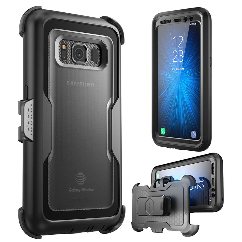 I BLASON For Galaxy S8Active Case Magma Heavy Duty Shock Reduction Bumper Case with Built in Screen Protector,Not Fit S8/S8+|כיסויים מותאמים|   - AliExpress