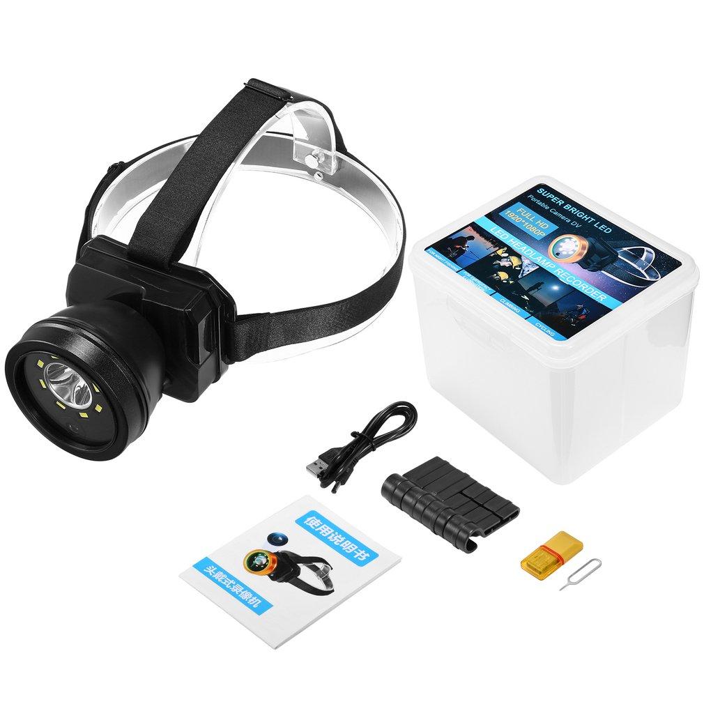 Rechargeable Headlamp IP66 Waterproof Head Lamp Outdoor Headlight Sports Head Light Dedicated Headlights