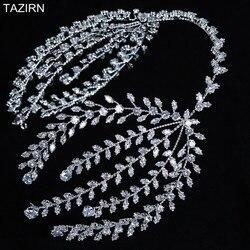 Новинка 2020, мягкие ободки с фианитом, свадебные диадемы CZ, ободки для волос, циркониевые украшения для волос на выпускной