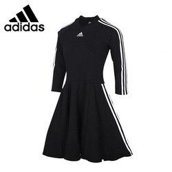 Nueva llegada Original Adidas W 3S vestido camisetas de mujer ropa deportiva de manga larga