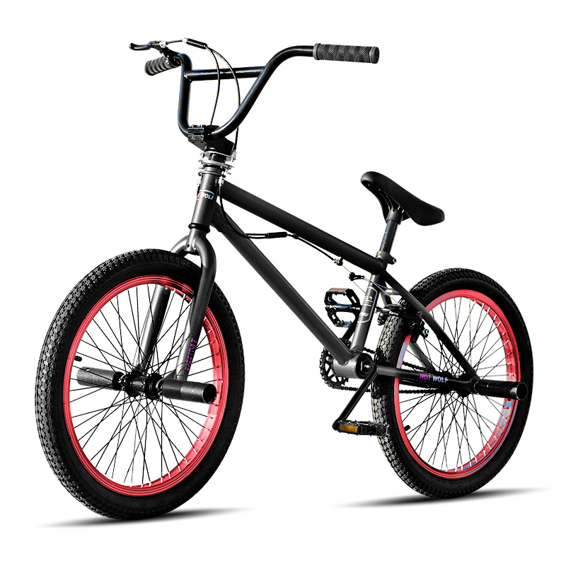 Велосипед BMX Bike Freestyle Steel Bicycle 20 дюймов Детский велосипед Show Bike Stunt Акробатический велосипед MTB BMX велосипед