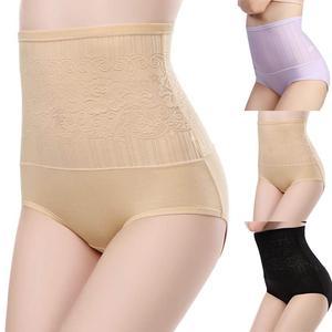 Женский кружевной сексуальный полый бесшовный дышащий корсет с высокой талией, Корректирующее белье для похудения