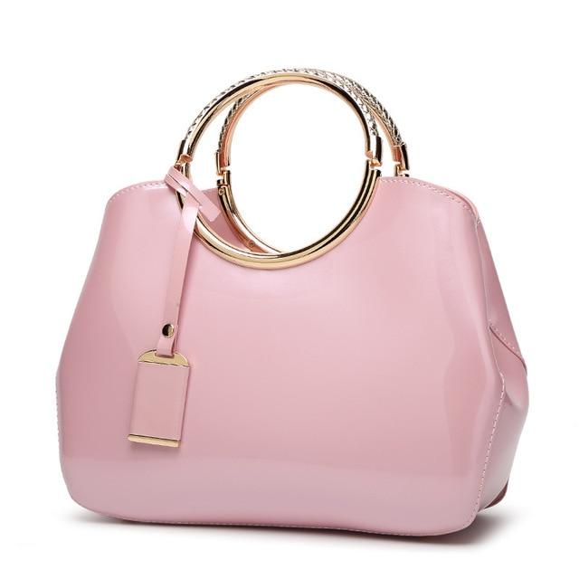 Red Bridal Bag 2020 New Fashion Bright Surface Women's Bag Messenger Bag Handbag Shoulder Bag