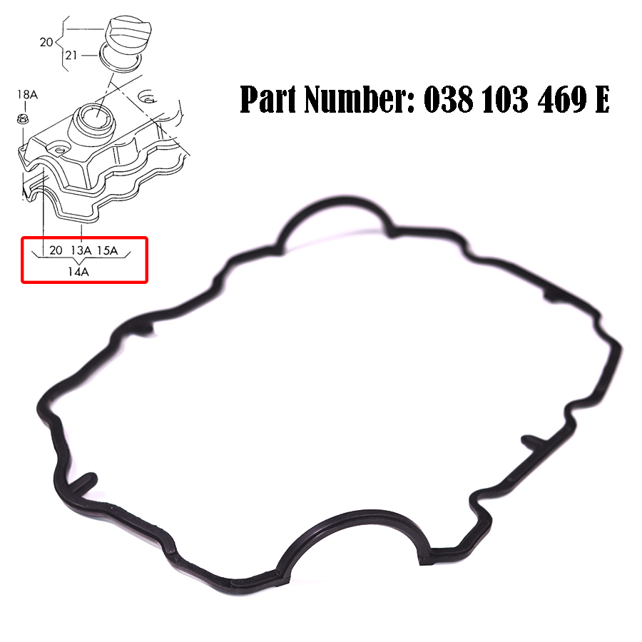 Wooeight 038 103 469 E 038103469E For VW Volkswagen Beetle