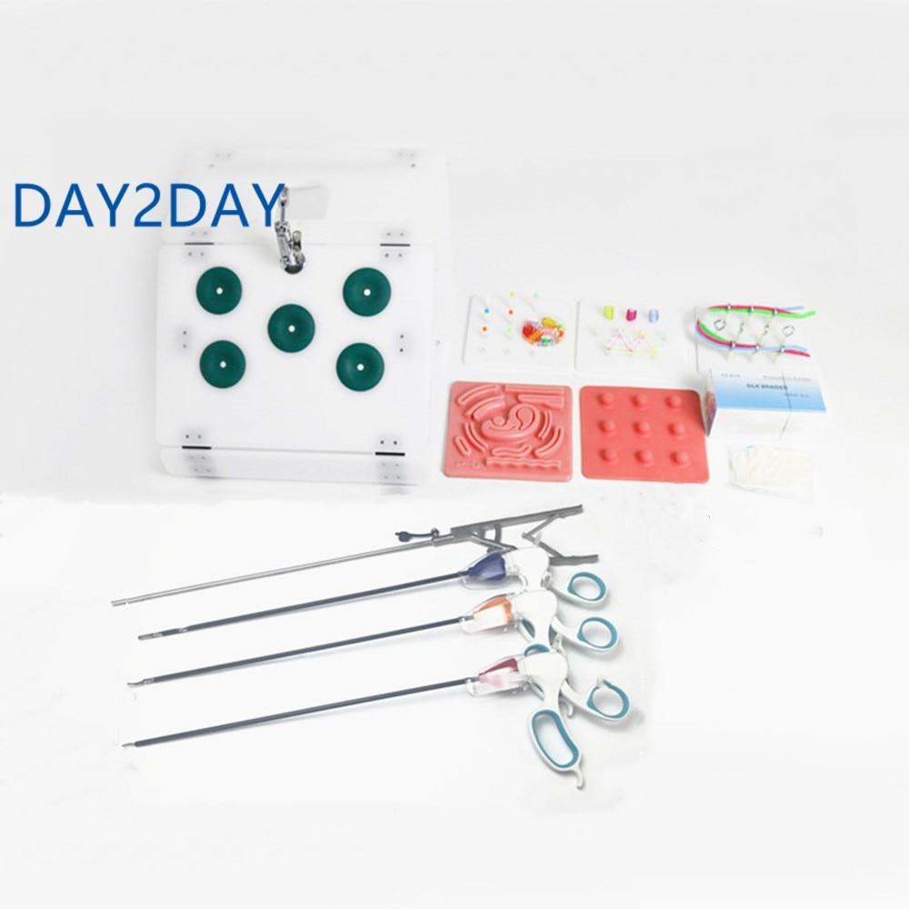 Laparoscopic Surgery Training Box set Student Doctors nurse Simulated Surgical Equipment Teaching Practice Tools 2