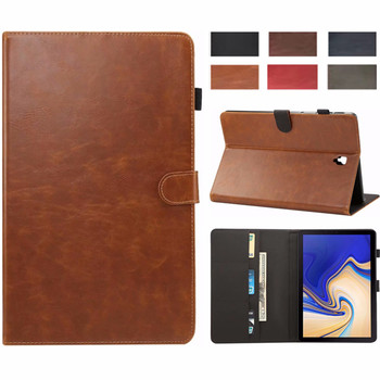 High Quanlity Leather Case For Samsung Galaxy Tab S4 10.5 T830 T835 SM-T830 SM-T835 10.5