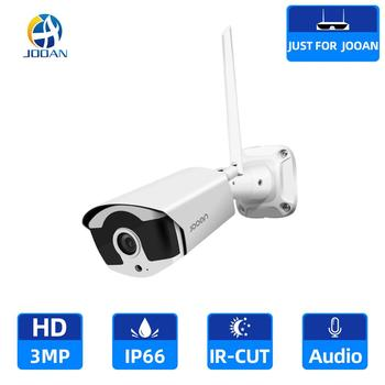 Wifi IP Camera 3.0MP Outdoor Infrared Night Vision Security Video Surveillance Audio Recording Wireless for Jooan NVR - discount item  51% OFF Video Surveillance