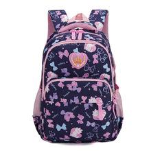 2020 dzieci szkolne torby dziewczyny ortopedyczne tornister dziecięce plecaki plecaki do szkoły podstawowej księżniczka plecaki mochila infantil tanie tanio Kamida Nylon zipper Floral kids bags for girls 21cm 0 67kg 32cm 41cm