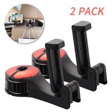Headrest-Hooks-Hanger Magnetic-Phone-Holder Phone-Bracket Back-Hook Car-Seat Kongyide