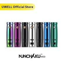 מכירה לוהטת!! UWELL NUNCHAKU Mod 5 80W כוח Mod להשתמש 18650 סוללה או USB חליפת תשלום עבור NUNCHAKU ערכת (ללא סוללה)