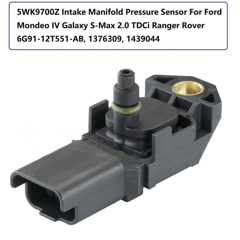 Generous 5wk9700z Intake Manifold Pressure Sensor For Ford Mondeo Iv Galaxy S-max 2.0 Tdci Ranger Rover 6g91-12t551-ab, 1376309, 1439044
