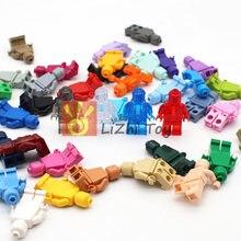 Cores Boneca 40 Iluminai Building Blocks Brinquedos Compatível Com Todas As Marcas de Tijolos Educacional DIY Modelo Pequeno Presente Figuras de Brinquedo Das Crianças