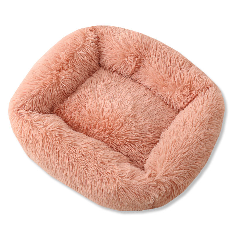 Super Soft Dog Bed House Dog Mat Plush Cat Mat Cats Nest For Large Dogs Bed Labradors House Round Cushion Pet Product Supplies 13