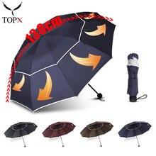 Parasol Business-Umbrellas Female Rain Women Luxury Large Double-3folding Double-3folding