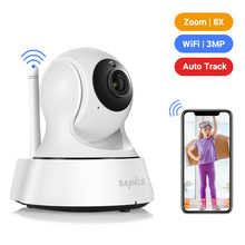SANNCE 2K Home Security IP Camera Wi Fi Wireless Mini Network Camera Surveillance Wifi 3MP Night Vision CCTV Camera Baby Monitor