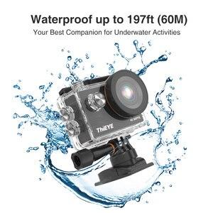 Image 4 - ThiEYE T5 برو واي فاي عمل كاميرا حقيقية 4K الترا HD كاميرا رياضية مع EIS تشويه التحكم عن بعد 60 متر مقاوم للماء