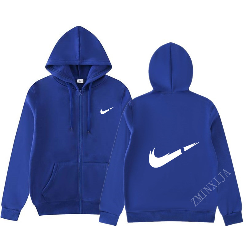Hoodies Men Brand Autumn Long Sleeve Solid Color Hooded Sweatshirt Mens Hoodie Tracksuit Zip Coat Casual Sportswear