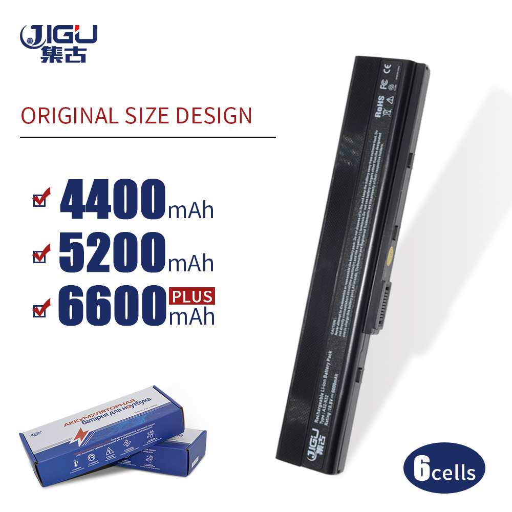 JIGU 6 Cells Laptop Battery For Asus A52 A52F A52J K42 K42F K52F K52 K52J K52JC K52JE A31-K52 A32-K52 A41-K52 A42-K52 image