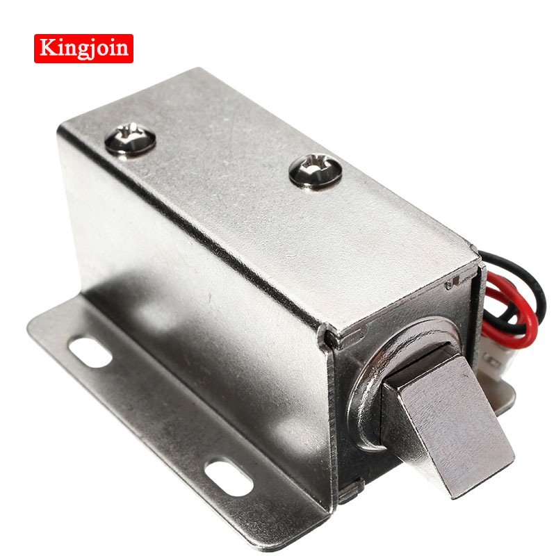 12V DC 1.1A Electric Lock Assembly Solenoid Cabinet Drawer Door Lock Low-Power Smal Automatic Door Electric Locks