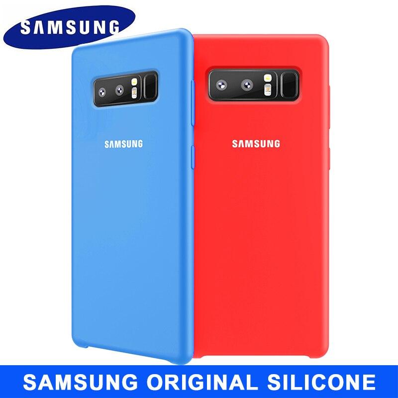 Samsung Note 8 Case Original Soft Silicone Protector Case Samsung Galaxy Note 8 9 10 pro Case Back Cover