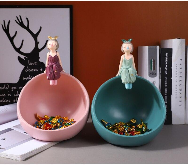 casa mobiliário resina doces lanche recipiente suprimentos