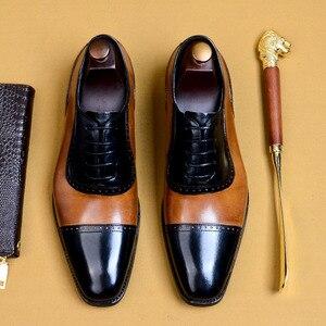 Мужские модельные туфли из натуральной коровьей кожи; официальная обувь из крокодиловой кожи с острым носком; деловые мужские свадебные ту...