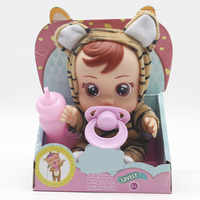 3D Silicone Inteiro Realista Doll Reborn Cry Baby High Quality Magic Tears Dolls Toys For Children Surprise Gift Bjd