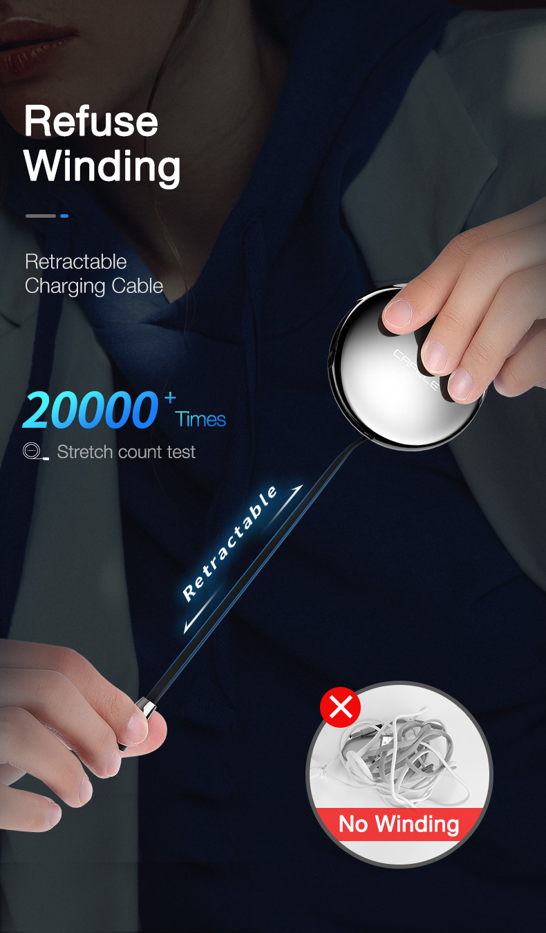Magnetic Charging USB Cable (5)
