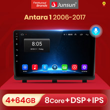 Junsun V1 Android 10.0 DSP CarPlay radioodtwarzacz samochodowy multimedialny odtwarzacz wideo Auto Stereo GPS dla opla Antara 1 2006 - 2017 2 din dvd