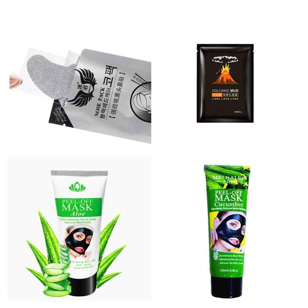 60g Nero Viso Maschere Siero di Vitamina C Cetriolo Copriletto Maschera Crema Sbiancante Comedone di Pulizia Acqua-Bloccaggio Idratare Viso pacchetto