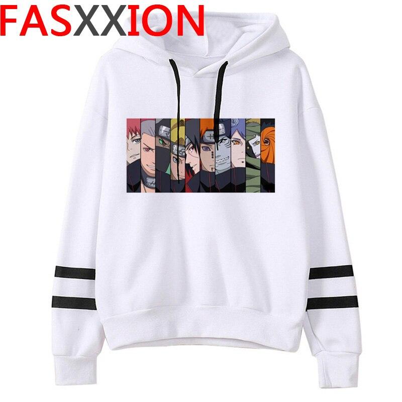 Naruto Hoodie Men Kawaii Cartoon  Harajuku  Streetwear 2020 Hot Japanese Anime  Sweatshirts Men Funny Print Hip Hop Hoody Male