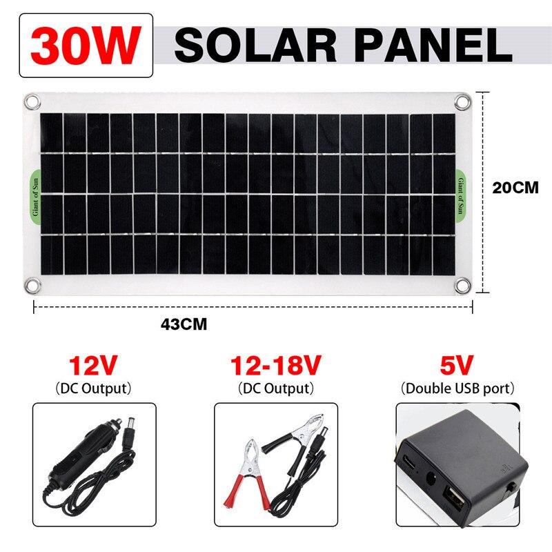 carga 1000w inversor solar kit geração de energia completa