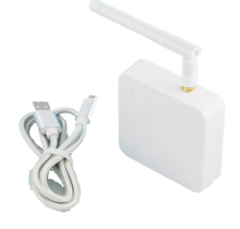CE FCC certificato AB BLE Gateway 4 BLE per Ponticello di WiFi versione di rete