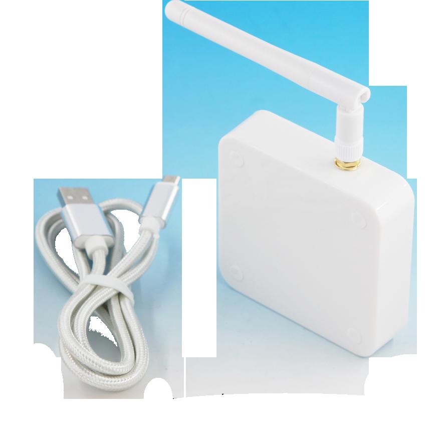 CE FCC certified AB BLE Gateway 4 BLE to WiFi Bridge network version